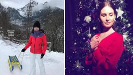 Betka tráví Vánoce v rodném Slovensku.