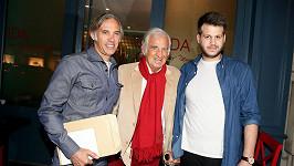 Jean-Paul Belmondo se synem Paulem a vnukem Alessandrem