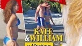 Vévodkyni Kate tentokrát nafotili na dovolené v Karibiku.