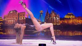 Yeva Shiyanova v Talentu předvedla sexy tanec.