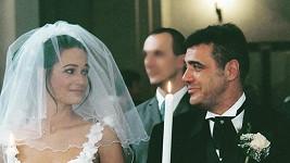 Klára Doležalová na archivní fotografii ze svatby
