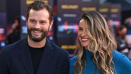 Jamie Dornan s manželkou Amelií