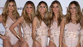 Modelčiny klony byly podobné spíš sobě navzájem, než samotné Klum.