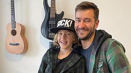Marek Ztracený se synem Marečkem