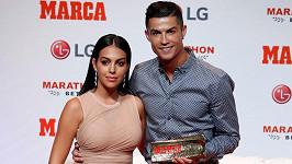 Cristiano Ronaldo s přítelkyní Georginou Rodriguez