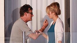 Charlie Sheen se svou porno hvězdou.