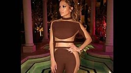 Jennifer Lopez na své narozeninové oslavě