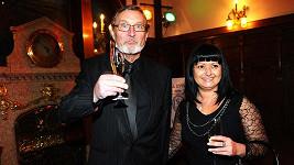 Ladislav Frej s přítelkyní Gábinou.