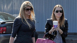 Kirstie Alley s dcerou Lillie Price.