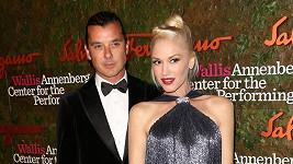 Gwen Stefani s manželem Gavinem Rosdalem.