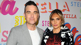 Robbie Williams a jeho žena Ayda