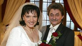 Jiří Brabec a Šárka Rezková na fotce z roku 2002