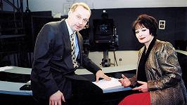 Zbyněk Merunka a Eva Jurinová byla nerozlučná dvojice Televizních novin.