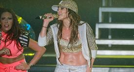 Jennifer Lopez v Brazílii předvedla perfektní show.