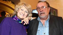 Eduard Hrubeš s manželkou