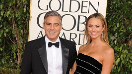 George Clooney a Stacy Keibler