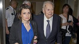 Inés Zorreguieta s otcem Jorgem na snímku z roku 2016