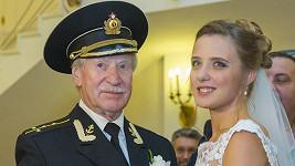 Srdce herce Ivana Kraska vzplálo k Natalii Shevel, kterou pojal za svou ženu.
