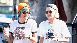 Kristen Stewart s přítelkyní Alicií Cargile