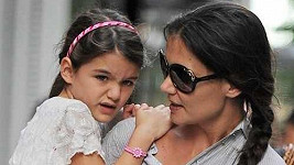 Katie Holmes s dcerkou Suri