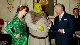 Princezna Fiona, Shrek a princ Charles.