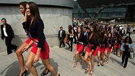 Kandidátky na titul Miss France 2012 v Mexiku.