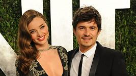 Orlando Bloom s exmanželkou Mirandou Kerr