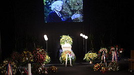 Poslední rozloučení s Květou Fialovou