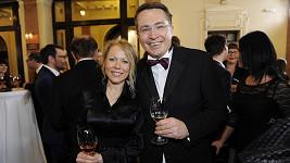 Roman Šmucler s partnerkou Ivou