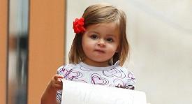 Dcera Jessicy Parker Marion při procházce New Yorkem.