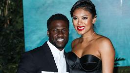 Kevin Hart s manželkou Eniko