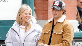 Christie Brinkley se synem Jackem v New Yorku