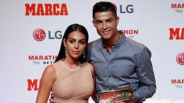 Cristiano Ronaldo a Georgina Rodríguez