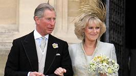 Princ Charles a vévodkyně Camilla na svatbě