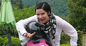Anna K. si vytvořila svého gay šmoulu.