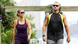 Heidi Klum se svým bodyguardem a údajným milencem.