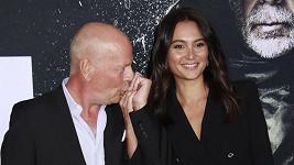 Bruce Willis s manželkou