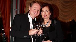 Petr Jančařík s manželkou Mirkou