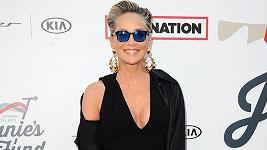 Sharon Stone na charitativní akci při lednových Grammy