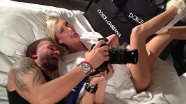 V posteli s Mesarošovou skončil i známý slovenský fotograf Mario Gotti.