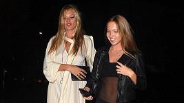 Kate Moss s dcerou Lily Grace