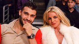 Britney Spears a Sam Asghari