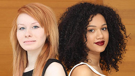 Lucy a Maria rozhodně nevypadají jako dvojčata.