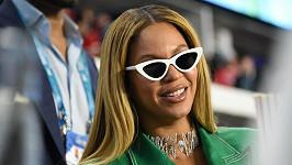 Beyoncé byla letos na Super Bowlu jako divák.