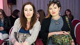 Soňa Norisová a Zuzana Norisová si nenechaly ujít módní show.