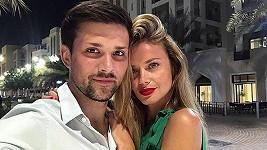 Filip Horký s přítelkyní Kristýnou Panochovou