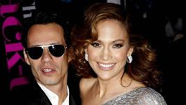 Lopez a její poslední manžel Marc Anthony.