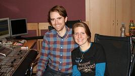 Markéta se svým manželem Timem Iselerem.