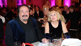 Petr Novotný s manželkou Mirkou.
