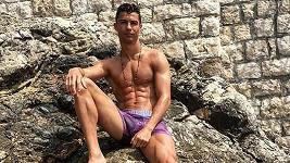 Cristiano Ronaldo v boxerkách